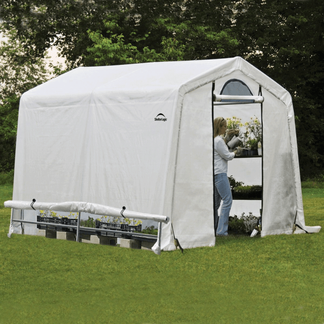 Click to view product details and reviews for Shelter Logic 8 X 8 Greenhouse In A Box.