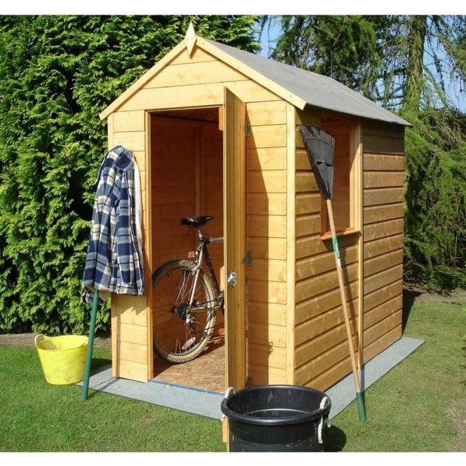 Click to view product details and reviews for Shetland 6x4 Shiplap Apex Garden Shed.