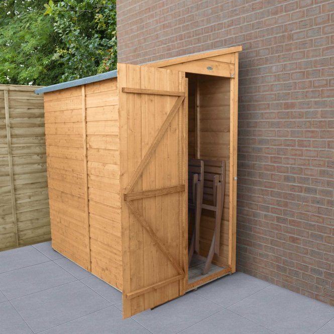 Shiplap Dip Treated 6x3 Pent Shed