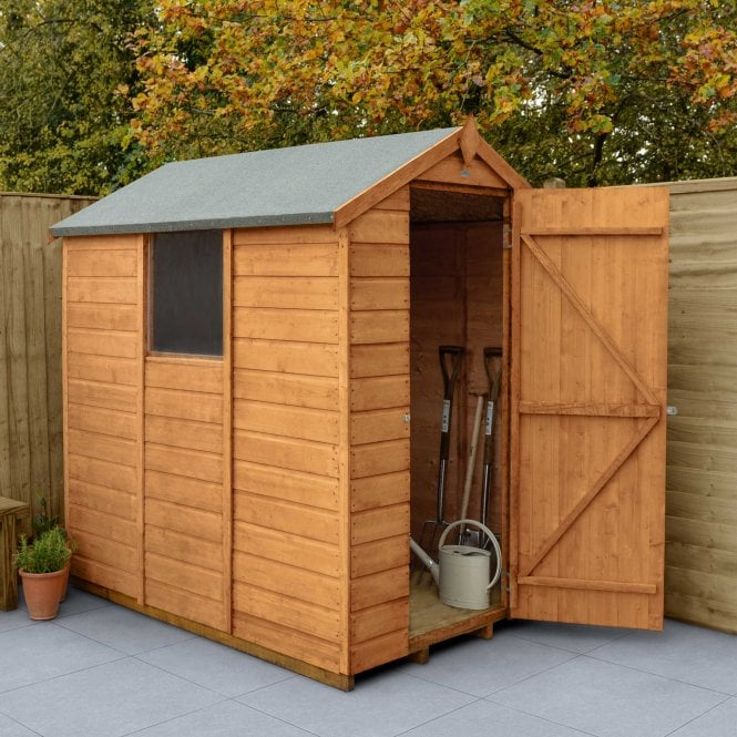 Shiplap Dip Treated 6x4 Apex Shed