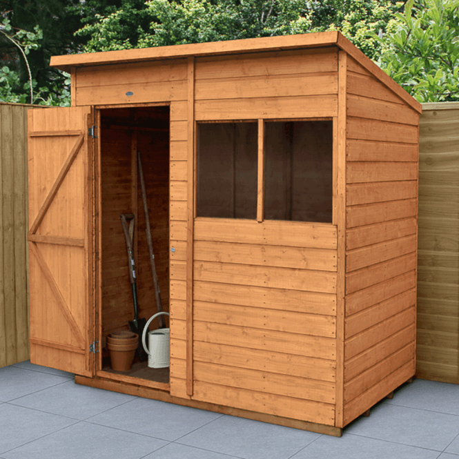 Click to view product details and reviews for Shiplap Dip Treated 6x4 Pent Shed.