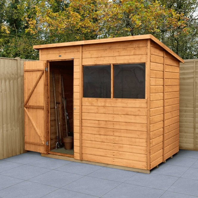 Click to view product details and reviews for Shiplap Dip Treated 7x5 Pent Shed.