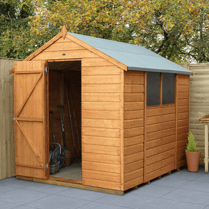 Click to view product details and reviews for Shiplap Dip Treated 8x6 Apex Shed.