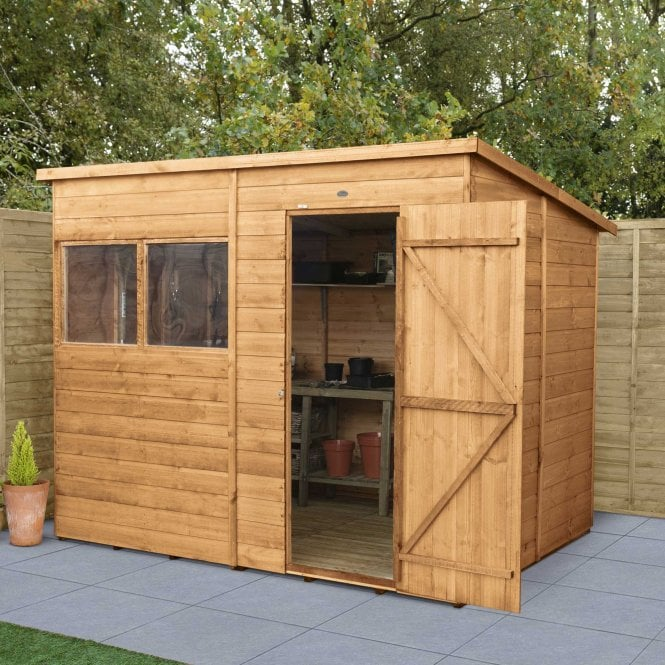Click to view product details and reviews for Shiplap Dip Treated 8x6 Pent Shed.