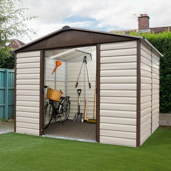 Click to view product details and reviews for Shiplap Metal Shed 10 X 6.