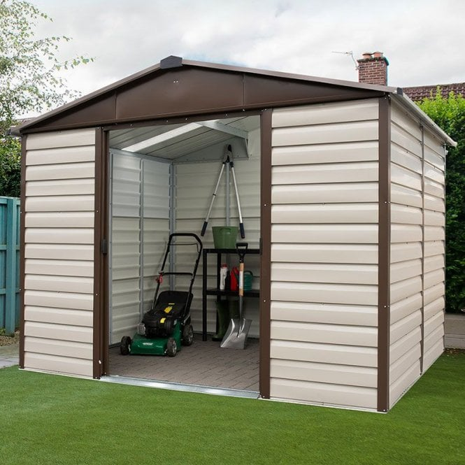 Shiplap Metal Shed With Floor Support Kit 10 X 12