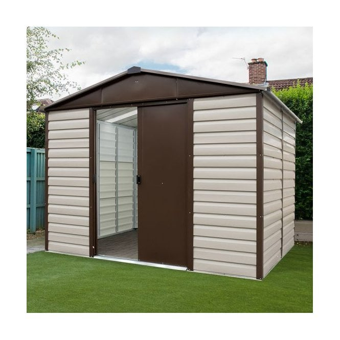 Click to view product details and reviews for Shiplap Metal Shed With Floor Support Kit 10 X 8.