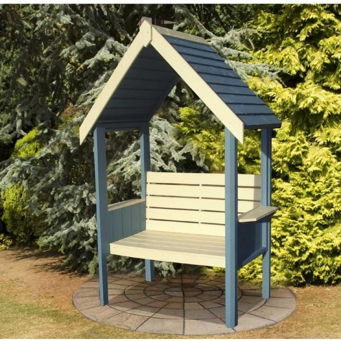 Click to view product details and reviews for Blossom Arbour With An Attractive And Solid Roof.