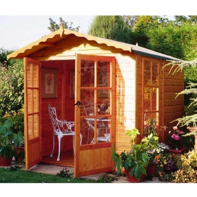 Click to view product details and reviews for Buckingham Summer House With Double Doors.