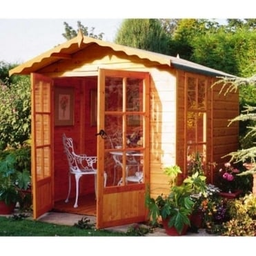 Buckingham Summer House with Double Doors