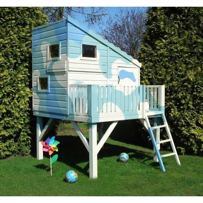 Command Post Playhouse Optional Raised Platform