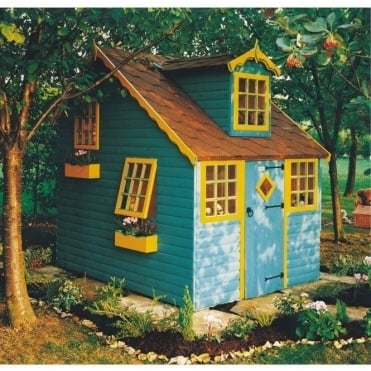 Shire Cottage Playhouse with 5 Windows