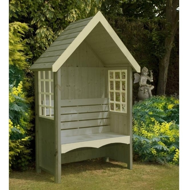 Click to view product details and reviews for Shire Mimosa Arbour With Attractive Window Design.