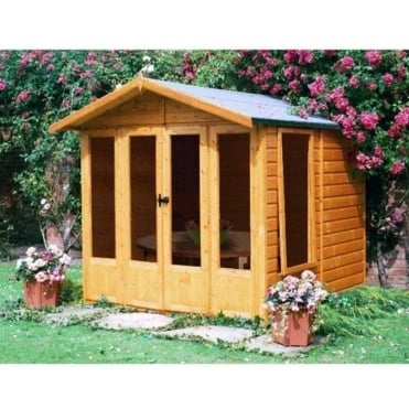 Parham Summer House with Double Doors