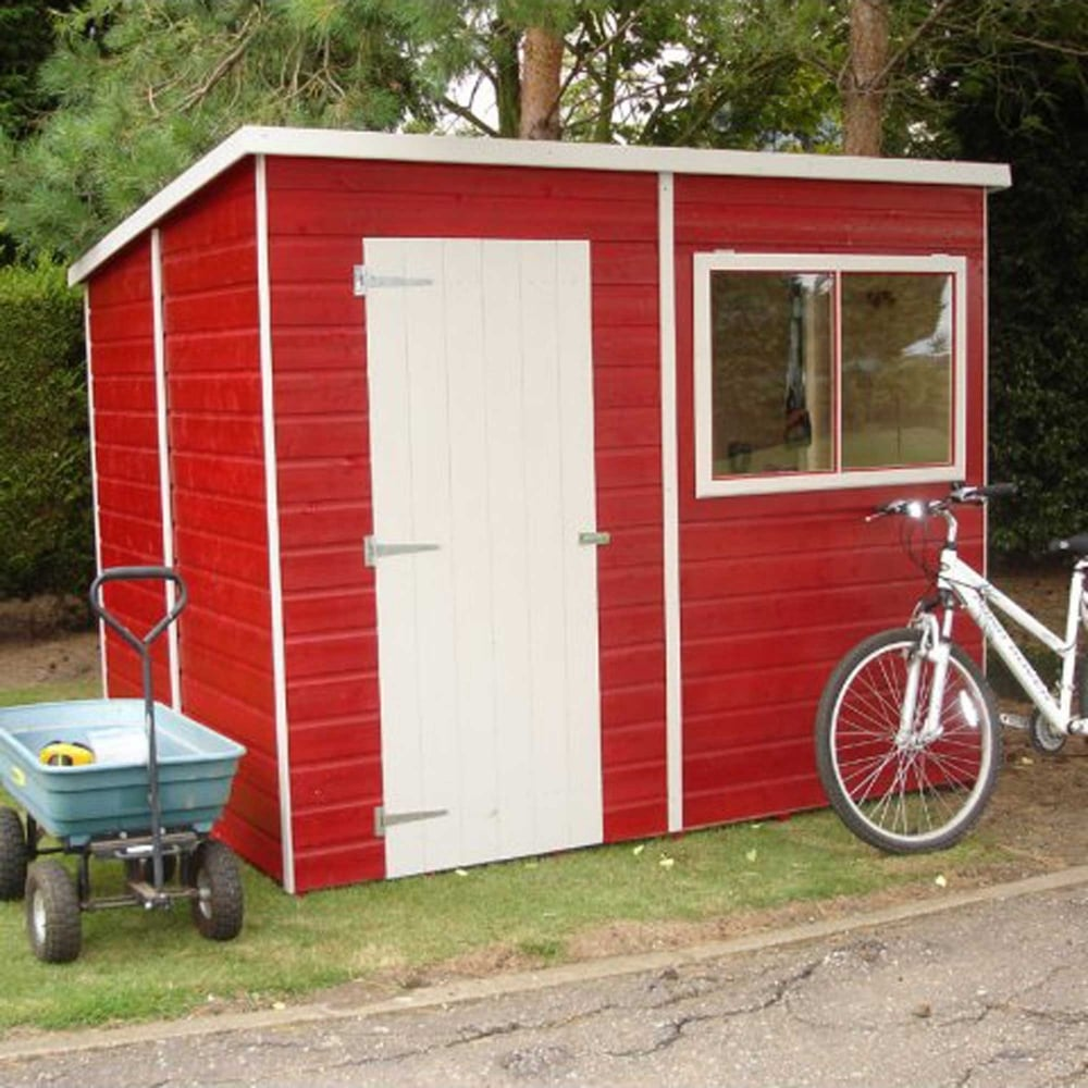 Shire pent 8 x 6 garden shed for Garden shed 8 x 6