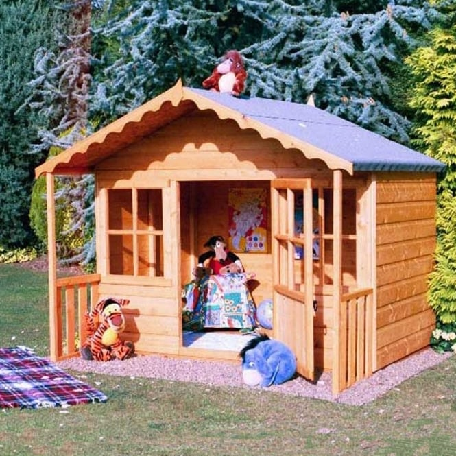 Click to view product details and reviews for Pixie Playhouse With Mini Veranda And 2 Windows.