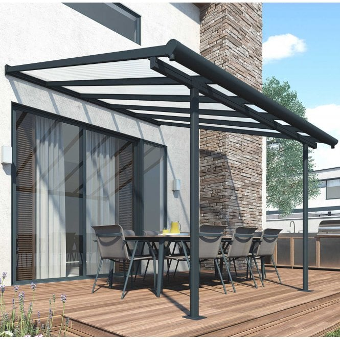 Click to view product details and reviews for Sierra 3m X 305m Grey Patio Cover.
