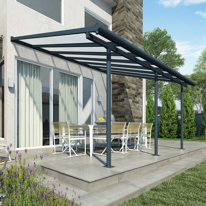 Click to view product details and reviews for Sierra 3m X 425m Grey Patio Cover.