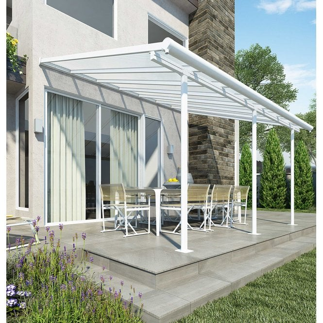 Click to view product details and reviews for Sierra 3m X 425m White Patio Cover.