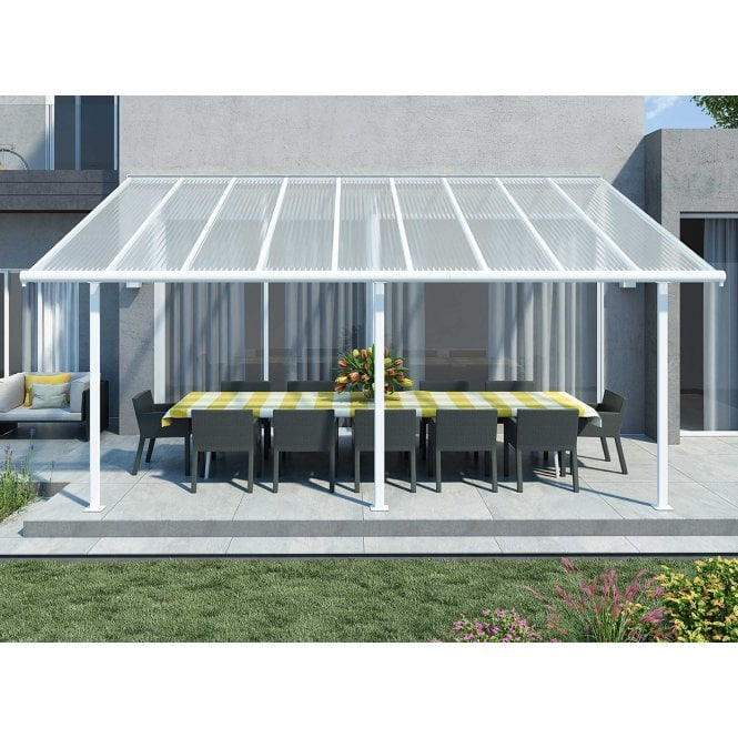 Click to view product details and reviews for Sierra 3m X 546m White Patio Cover.