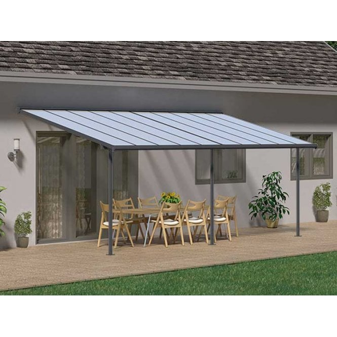 Click to view product details and reviews for Sierra 3m X 61m Grey Patio Cover.