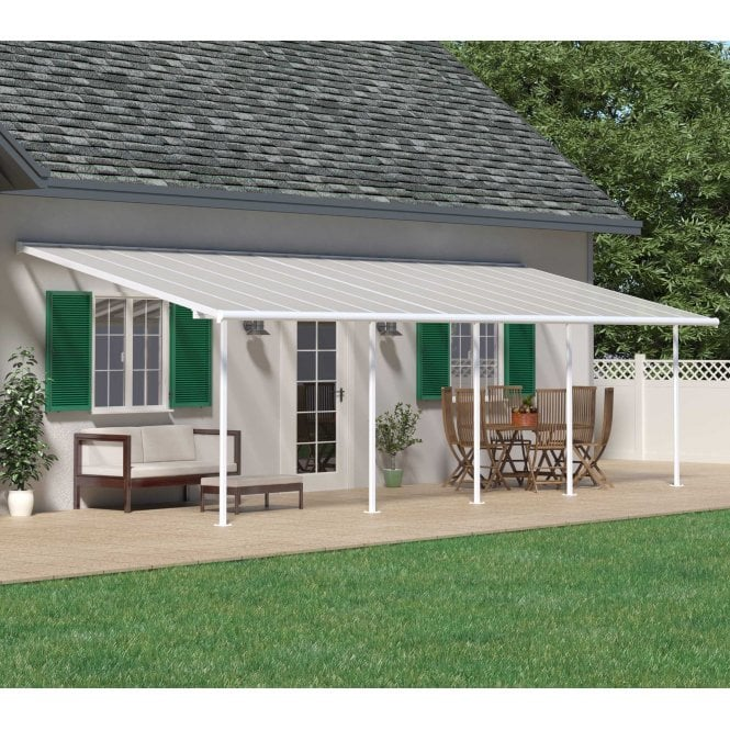 Click to view product details and reviews for Sierra 3m X 915m White Patio Cover.