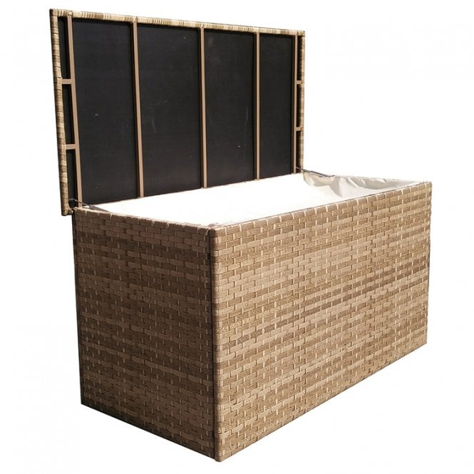 Click to view product details and reviews for Signature Weave 3 Wicker Caramel Large Cushion Box.