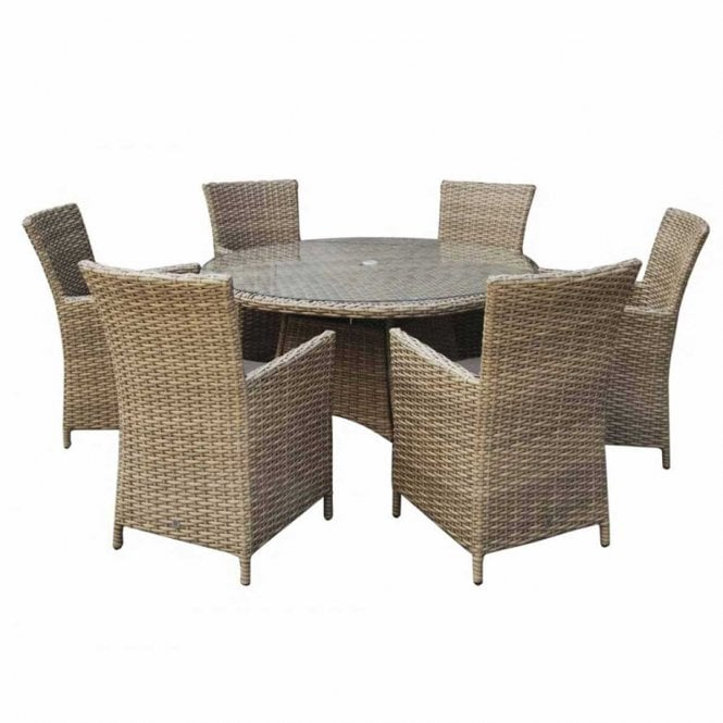 Click to view product details and reviews for Signature Weave Darcey 6 Seat Round Dining Set.