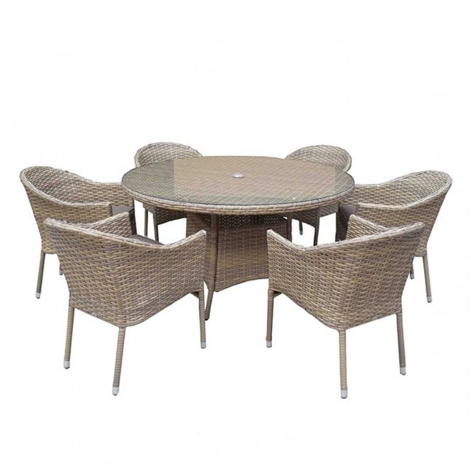 Click to view product details and reviews for Signature Weave Darcey 6 Seat Round Stacking Set.
