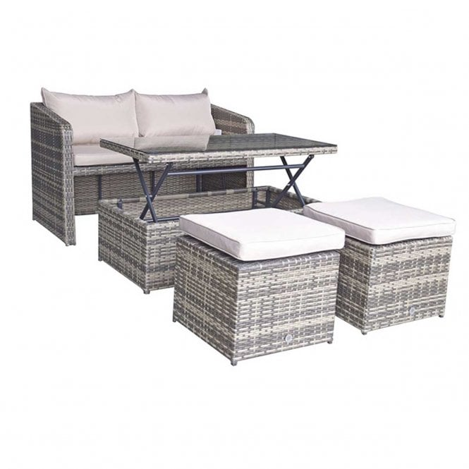Click to view product details and reviews for Signature Weave Gemma Stacking Compact Sofa Dining Set.