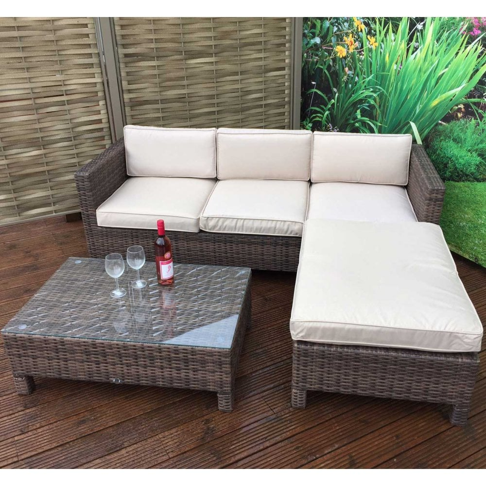 Signature Weave Suzie Small Corner Sofa Set