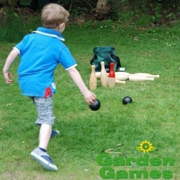 Skittles Garden Game with Carry Bag