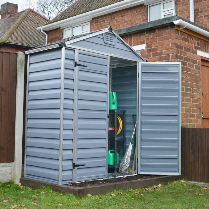 Click to view product details and reviews for Skylight Shed 6 X 3 Grey.