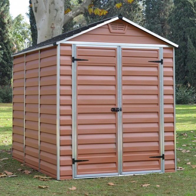 Click to view product details and reviews for Skylight Shed 6 X 8 Amber.