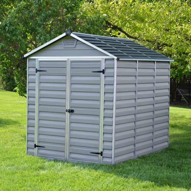 Click to view product details and reviews for Skylight Shed 6 X 8 Grey.