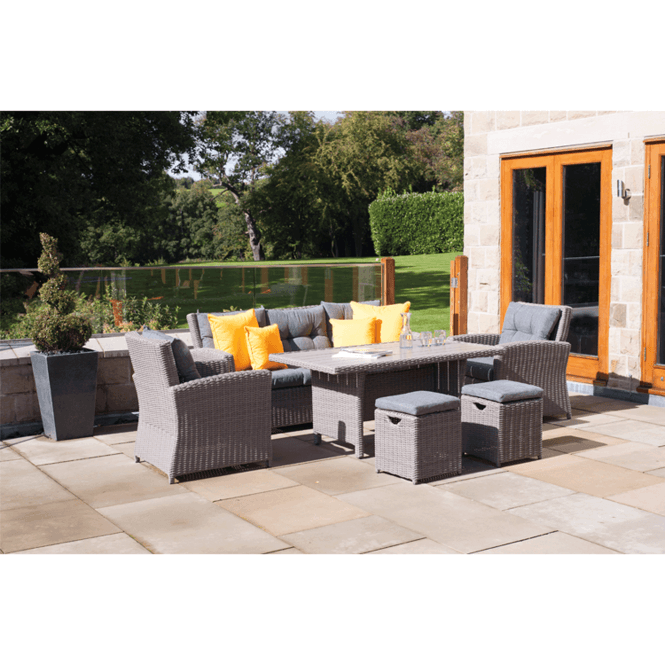 Click to view product details and reviews for Slate Grey Barbados 6 Piece Dining Set.