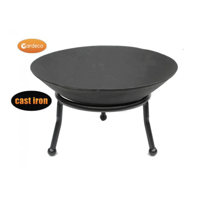 Click to view product details and reviews for Small Cast Iron Fire Bowl.