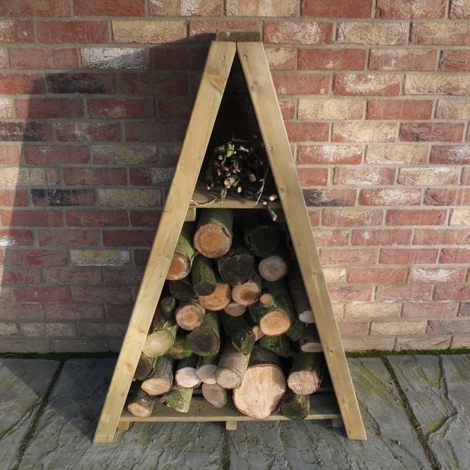 Click to view product details and reviews for Small Triangular Log Store Overlap.