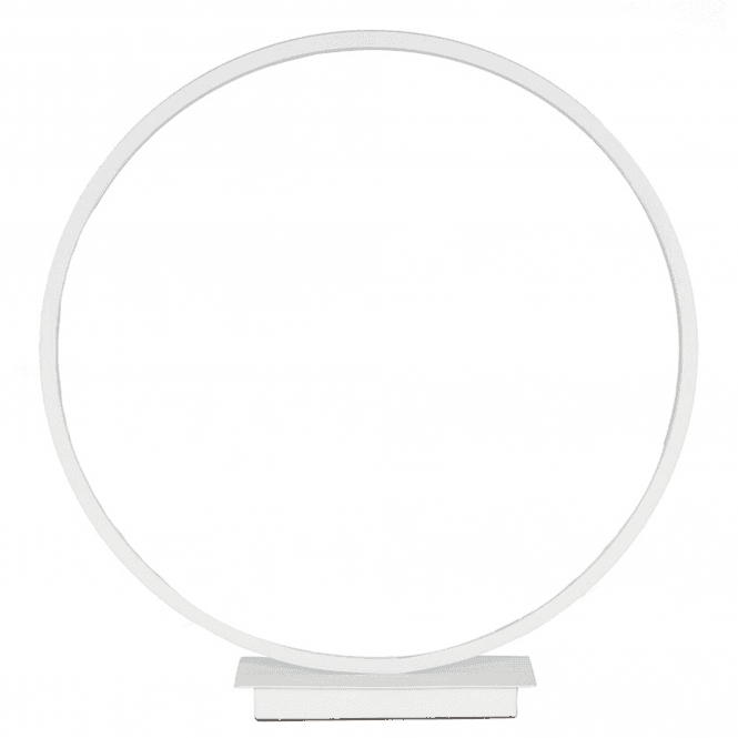 Click to view product details and reviews for Small White Led Circle Table Lamp.