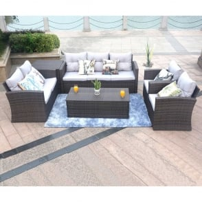 Soliel 6 Piece Lounge Sofa Set