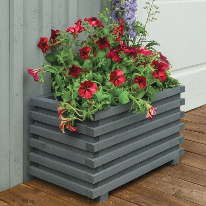 Click to view product details and reviews for Sorrento Rectangular Planter.