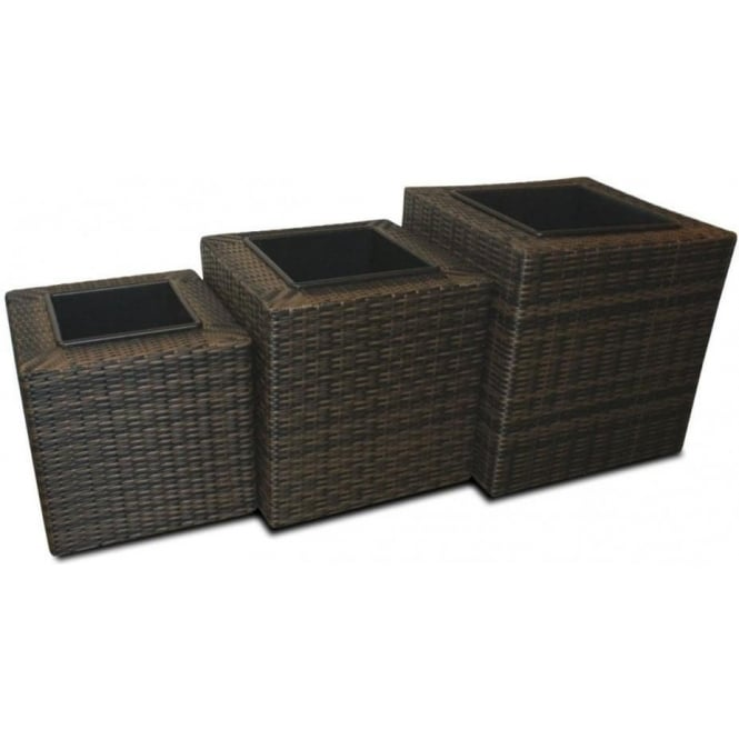 Click to view product details and reviews for Square Planter Set.