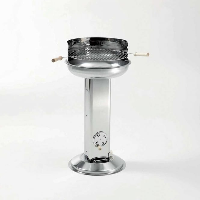 Click to view product details and reviews for Stainless Steel Pedestal Barbecue.