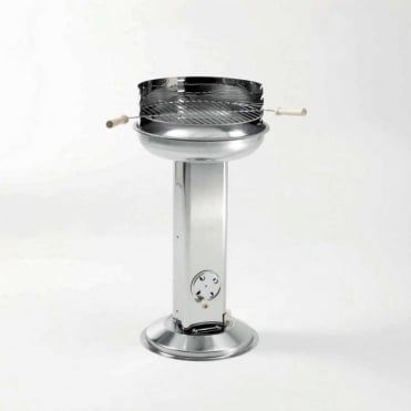 Stainless Steel Pedestal Barbecue