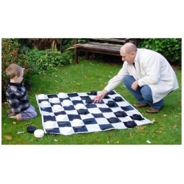 Standard Giant Draughts (or Checkers) Set