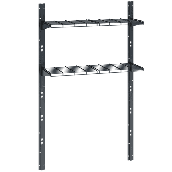 Click to view product details and reviews for Suncast Adlington Metal Shelf Kit.