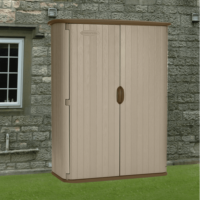 Suncast Conniston 4 Vertical Storage Shed Discontinued