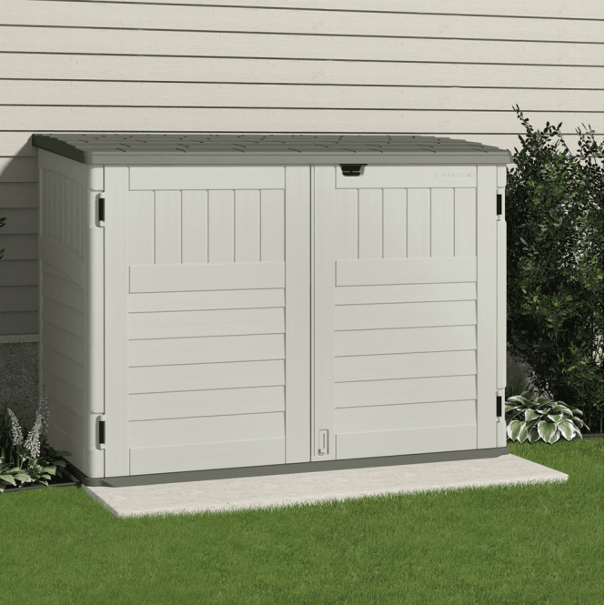 Click to view product details and reviews for Suncast Kensington Storage Shed Wheelie Bin Store Large.