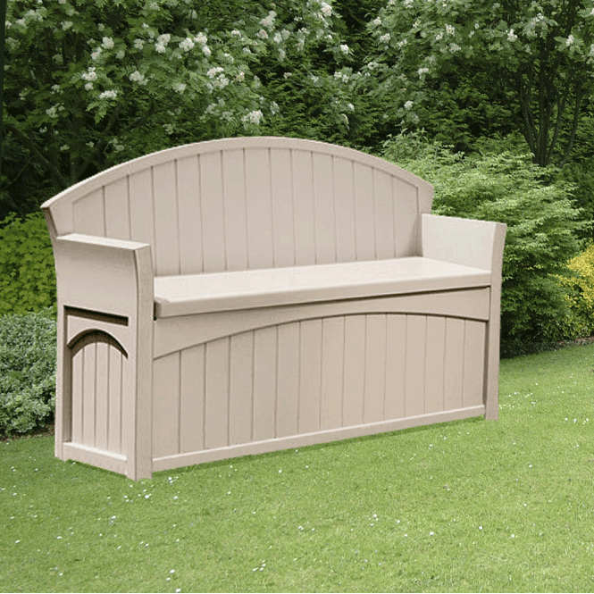 Click to view product details and reviews for Suncast Patio Storage Seat Double.