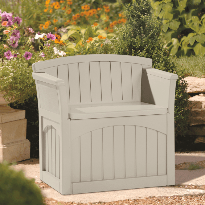 Suncast Patio Storage Seat Single